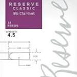Rico CLACL** Classic Reserve Clarinet Reeds Box of 10