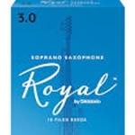 Rico ROSS** Royal Soprano Sax Reeds - Box of 10