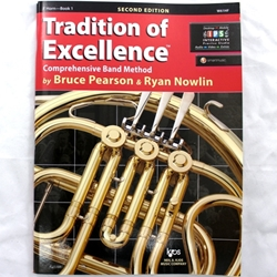 KJOS W61HF Tradition of Excellence - Book 1