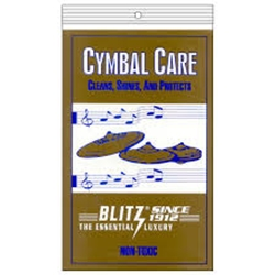 Blitz BL312 Cymbal Care Polishing Cloth