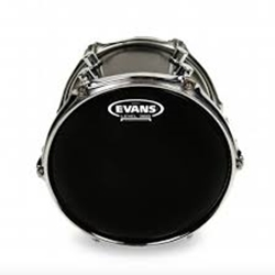 "Evans B08ONX2 8"" Black Batter Head"