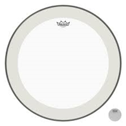"Remo P31224C1 24"" White Bass Drum Front Head"
