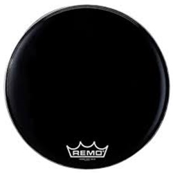 "Remo PM1428MP 28"" Ebony Suede Bass Batter Head"