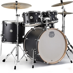 Mapex ST5295FB Textured Black 5 Pc. Drum Set