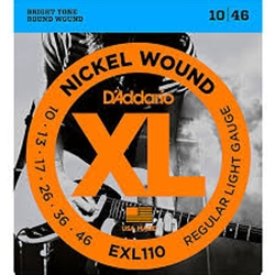D'Addario EXL110BOX 10 Boxes of Electric Regular Lite String Sets